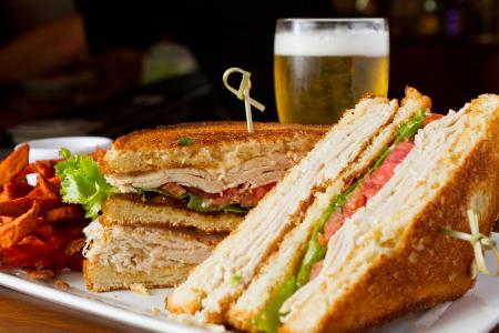 Turkey Clubber sandwich