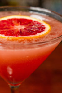 Photo of a Sparkling Blood Orange Cosmo