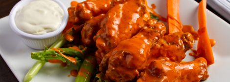 Buffalo wings with ranch