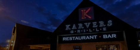 Exterior restaurant sign