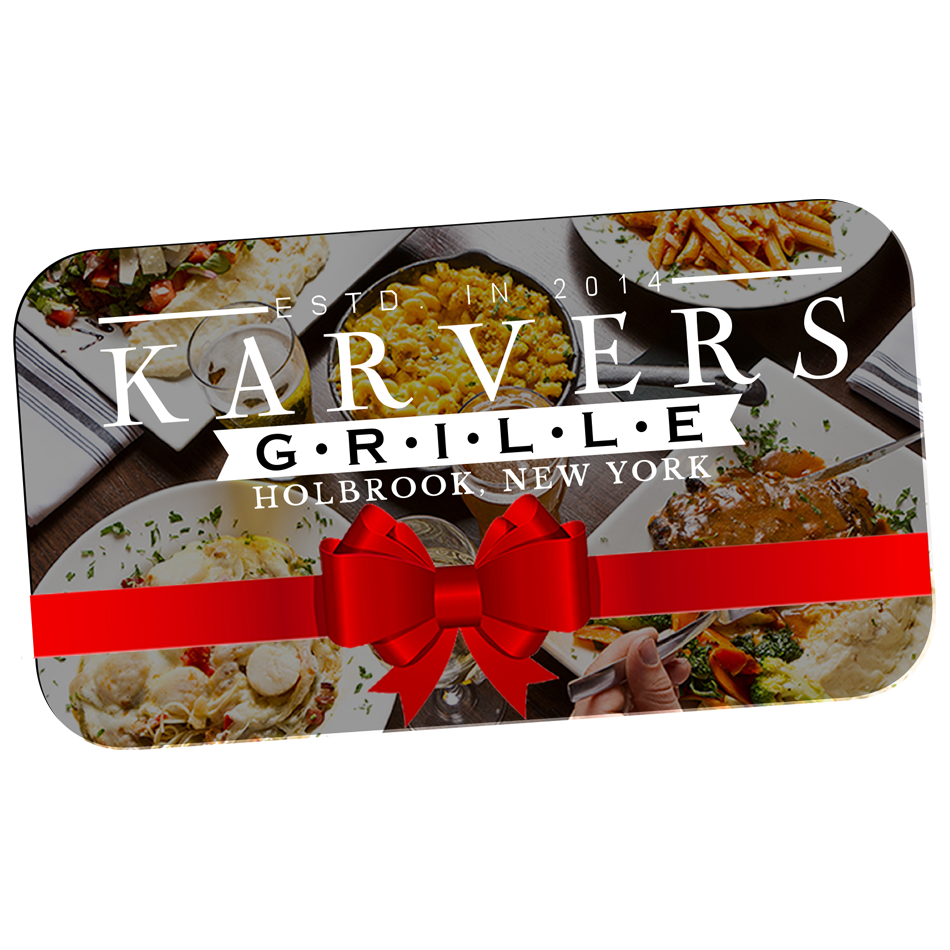 Photo of a Karvers Grille gift card