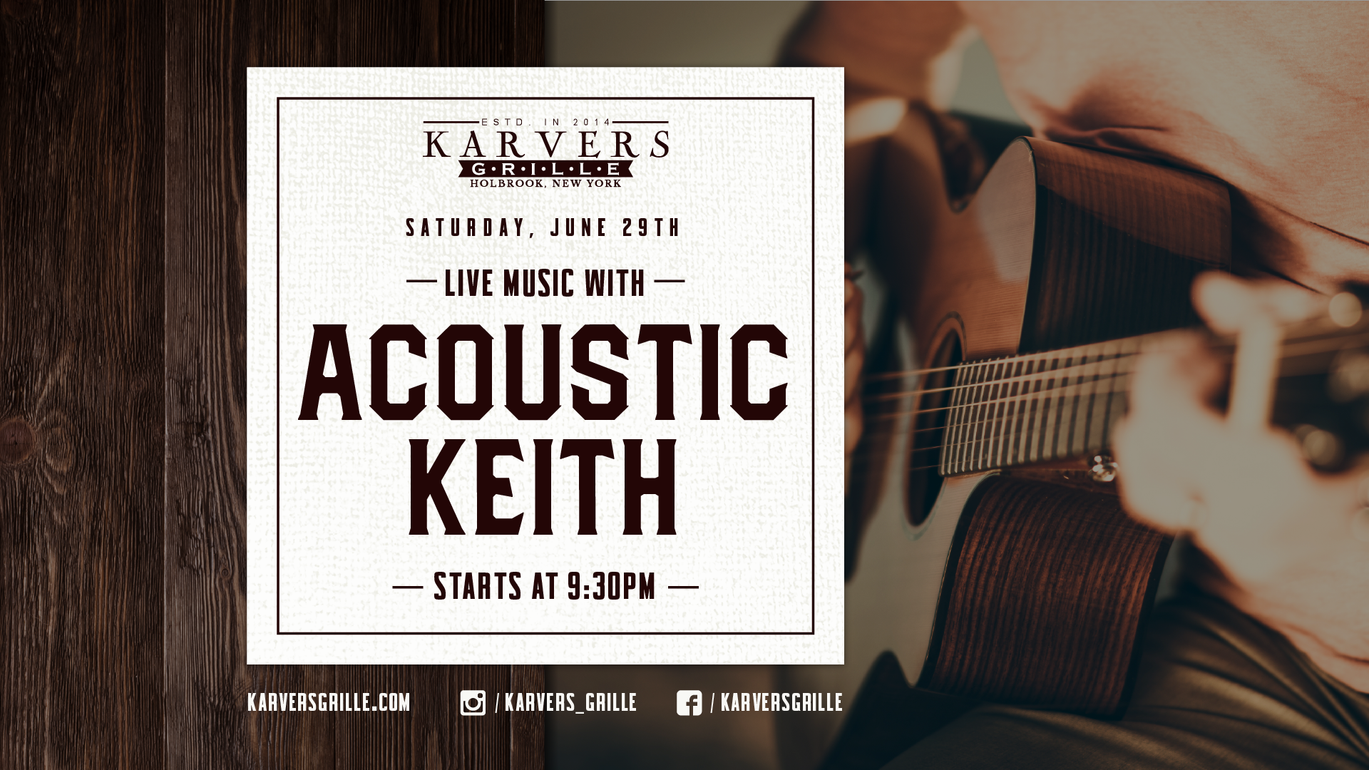 Acoustic Keith